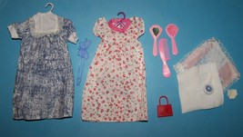 JUDITH MOMMY TO BE DOLL 1991 PREGNANT MOM & BABY WARDROBE MIP - $9.41