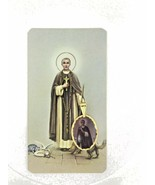 San Martin De Porres Medal 14k Gold Plated Medal with 18 Inch Chain - $9.78