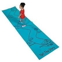 Tell the Story Aisle Runner 12ft x 3ft Blue School Class Educational - $14.49