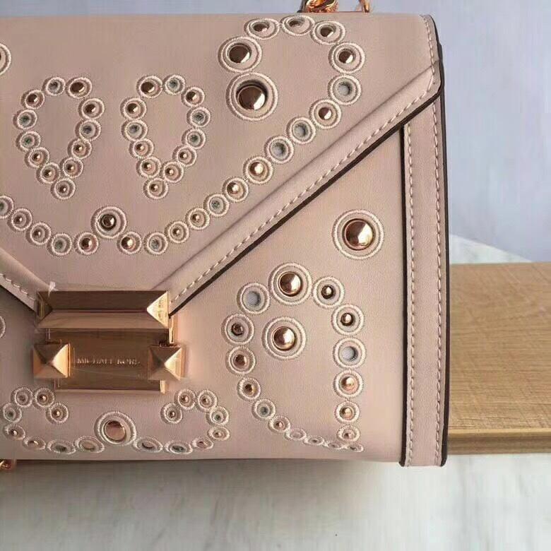 Michael Kors Whitney Large Embellished Leather Convertible Shoulder Bag