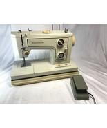 Kenmore Heavy Duty Metal Sewing Machine Model 148-15600 W/Pedal W/Light ... - $113.84