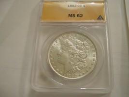 1882 CC Morgan Dollar , MS 62 , Anacs Certified - $295.00