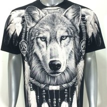 Dream Catcher T-shirt SPECIAL Tattoo Wolf r203 Rock Eagle Tribe Fox Indy... - $22.27+