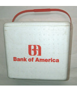 "RARE VTG 1980's Bank of America BofA 13""X14""X12"" Styrofoam Drink Soda Ic... - $72.84"