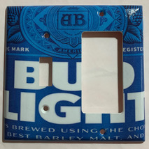 Budweiser Bud Light Beer Switch Toggle Rocker Power Outlet Wall Cover Plate image 6