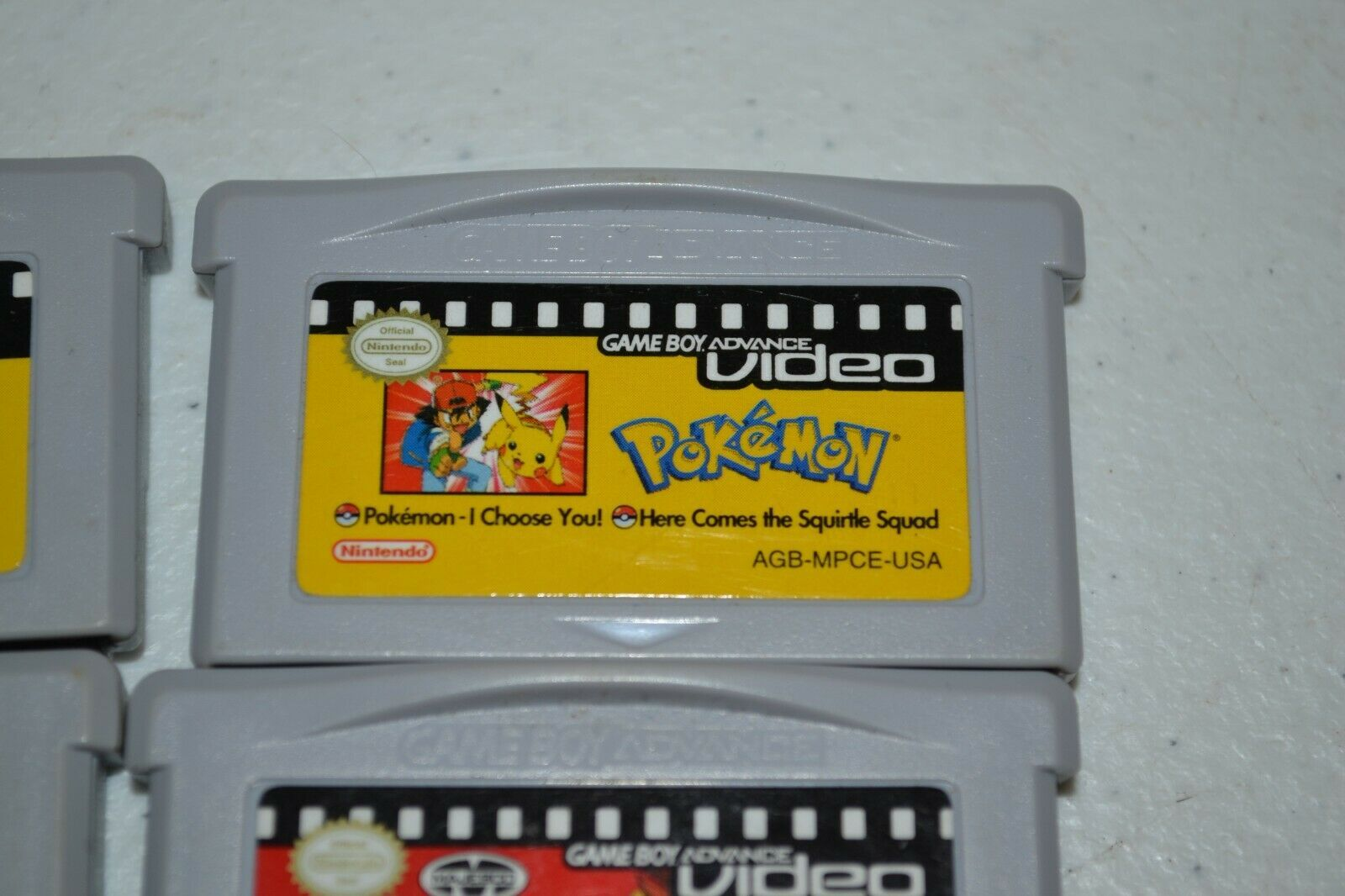 Pokemon Video Nintendo Game Boy Advance LOT of 3 Plus Dragonball GT GBA