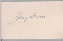 ROGER WASDELL Auto/Autograph 3x5 Index Card HOF Senators/Dodgers (1914-1... - $8.96