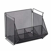Mesh Office Organizer, Tax File Office Organizer Caddy with Handle, Hang... - $31.34