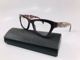 ⭐️ New Prada VPR 14Q ROM-1O1 Dark Purple & Violet Havana Eyeglasses 51mm... - $128.70