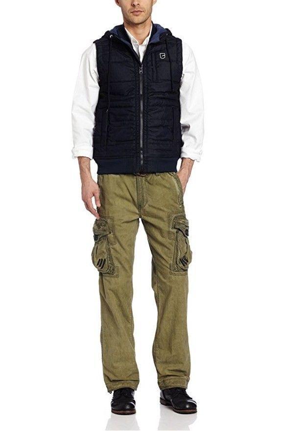 G Star Raw Men's RS Denim Vest, Raw, XX-Large BNWT $240 image 2