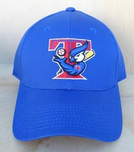 Toronto Blue Jays Bird With Bat Adjustable Ball Cap Small Medium - Mlb Snapback - $7.99