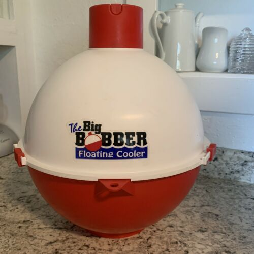 The Big BOBBER Floating Cooler Beer Or Soda Fishing/Boat/Canoe/Pool