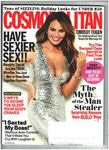 Cosmopolitan magazine December 2016, Crissy Teigen - $17.65