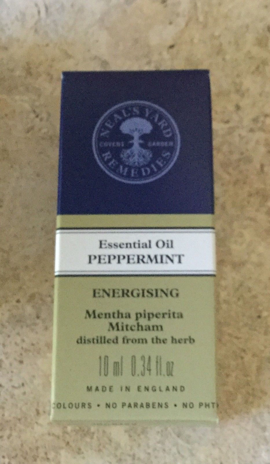 Neal's Yard Remedies PEPPERMINT (English) Essential Oil 10ml (boxed) sealed,