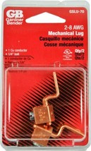 Gardner Bender GSLU-70 Copper Mechanical Lug 8-2 AWG 2 Pack - $2.33