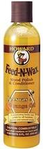 Howard FW0008 Feed-N-Wax Wood Polish and Conditioner, 8-Ounce
