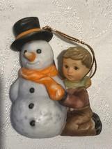 """Hummel """"My First Snowman"""" Ornament Inspired by Berta Hummel - $10.00"""