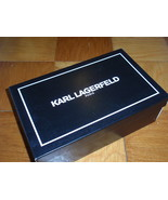 KARL LAGERFELD / PARIS Shoe Box - EMPTY BOX  12 x 7 3/4 x 4 - $7.13