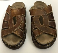 VTG Doc Dr. Martens Fisherman Sandals Chunky Brown Leather Women's Size ... - $29.70