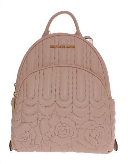 2c5f6cb0f3bd Michael kors beige abbey leather backpack designer collection stella saksa