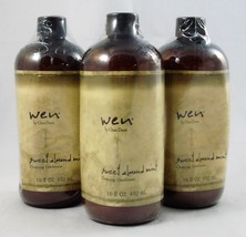 WEN by Chaz Dean Sweet Almond Mint Cleansing Conditioner 16 oz ~ LOT OF 3  - $56.06