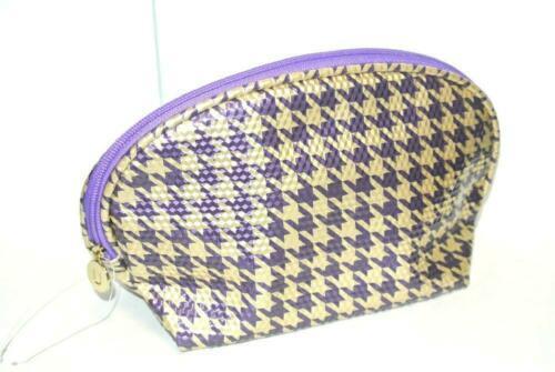 Ulta Purple Gold shiny Cosmetic Makeup Pouch Bag Case - $7.87