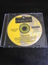 Améicaines Vœux Creatacard 4, Édition Spéciale Programme CD Rom Windows ... - $28.97