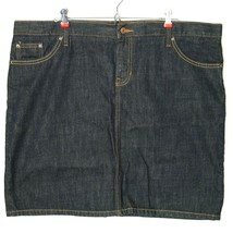 Gap 1969 Womens Jean Denim Skirt Limited Edition Plus Size 20 - $25.61