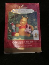 HALLMARK KEEPSAKE ORNAMENT 2000 CLASSIC POOH COLLECTION PIGLET'S JACK IN... - $9.99