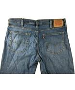 Levis 514 Mens 38 x 30 Red Tab Straight Leg Denim Jeans Medium Wash Pants - $28.05