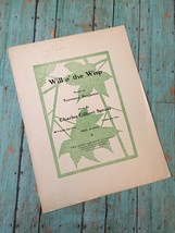 Vtg Will O The Wisp Sheet Music Torrence Benjamin Charles Gilbert Spross... - $14.84