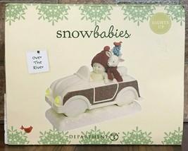Enesco Dept 56 Christmas Snowbabies Over the River Lighted Figurine 6001869 - $37.62