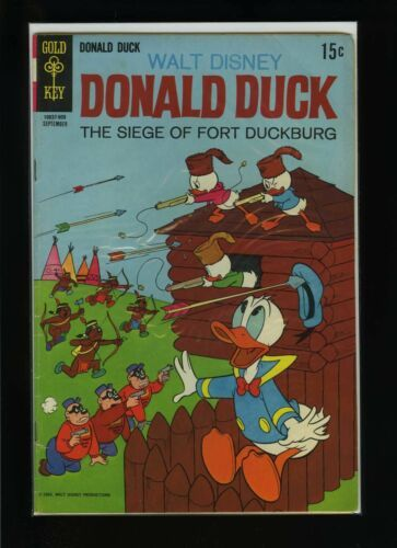 Primary image for Walt Disney's Donald Duck #127 VG 1969 Gold Key Comic Book