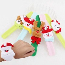 Children Christmas Wrist Straps Gift Xmas Party Toys Decors Santa Claus ... - $14.84