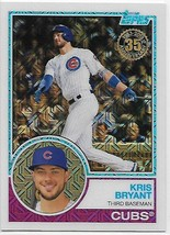 2018 Topps 83 Chrome Silver Promo Series 1 #7 Kris Bryant NM-MT Cubs  - $8.00