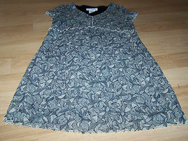 Size Small Motherhood Maternity Dress Black Beige Tan Print Church Work EUC - $22.00