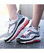 """NIKE AIR MAX 98 """"SOLAR RED"""" SIZE 7 BRAND NEW FAST SHIPPING (AH6799-104) - $109.60"""