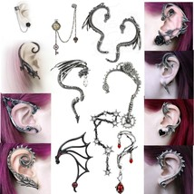 Alchemy Gothic Ear Wrap Earring Ear Cuff YOU CHOOSE Men Woman Gothic Fashion - $19.95+