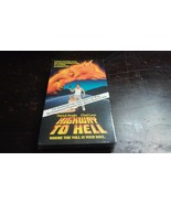 HIGHWAY TO HELL  R VHS Rare Screener! Cult Classic HTF! SEALED! New Old ... - $93.49