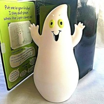 Hallmark Halloween Fun in the Fridge Singing Speaking Ghost w/Box Decora... - $34.64