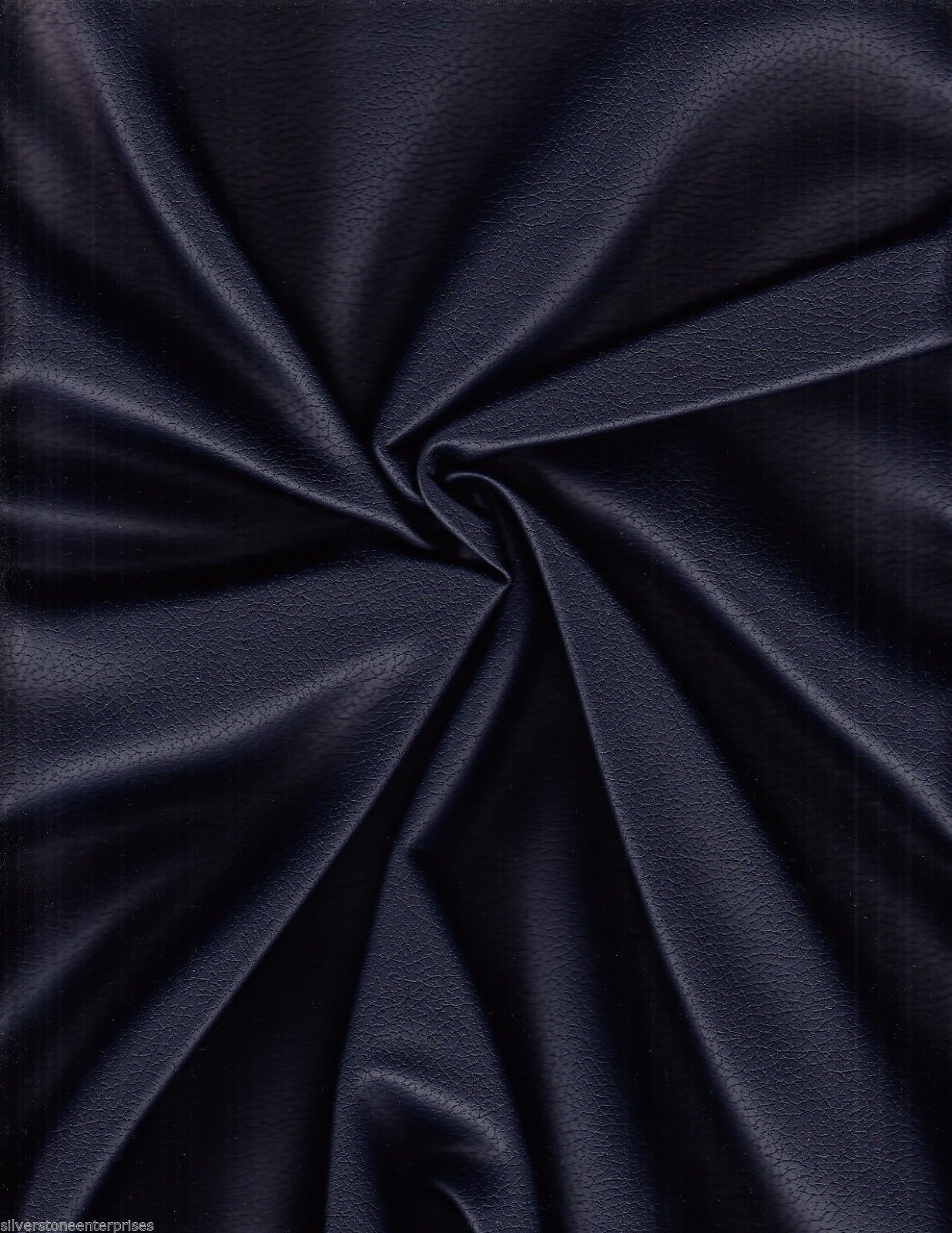 4 yds Ultrafabrics Upholstery Fabric Brisa Faux Leather Indigo Blue 303-2683 AS4
