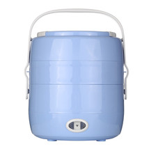 Homgeek® 2L Mini Rice Cooker Electric Meal Box Lunch Box Thermal Insulation - $40.29