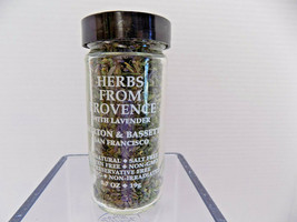 Morton & Bassett HERBS from PROVENCE w LAVENDER .7 oz Jar Best by 06-202... - $13.30