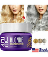 Purple Magical Hair Treatment mask Root Mask Remove Yellow Brassy Tones ... - $8.99