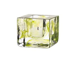 Kosta Boda Brick Votive Holder, Lime - $31.36