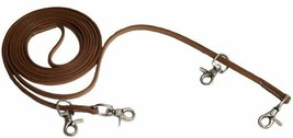 Harness Leather Draw Reins For Training a Horse For Western or English S... - $19.75