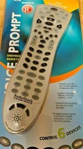 RADIO SHACK  VOICE PROMPT UNIVERSAL REMOTE  15-2146 - $27.49
