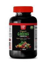 superfood tablets - ORGANIC GREENS COMPLEX - weight loss supplement 1B - $14.92