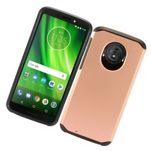 Motorola Moto G6 XT1925 Phone Case Rubberized Shockproof Hard Cover - $9.37