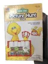 Vintage 1989 Sesame Street Picture Hunt Game - complete! - $24.74